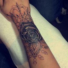 Rima from #BGC showing off her tatt. Beautiful! ❤️