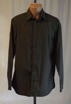 Mens-Banana-Republic-Large-16-16-1-2-Dress-Shirt-Long-Sleeve
