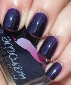 **Colors by Llarowe - Purple Rain / ThePolishAholic [Grape Jelly w/Bright Blue Shimmer]