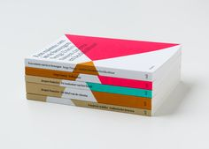 """Octavo book collection designed by Atelier Carvalho Bernau. """"All covers are unique, rhizomatic iterations of a system, and each book is the master design, not just a variation of a fixed template."""""""