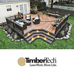 TimberTech Composite Decking and Railing image