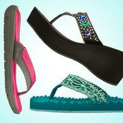Yay! Skechers sandals on sale at #zulily today. I love Skechers! @psynister will take away my credit card today.