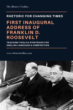 The Rhetor's ToolboxResources for connection, collaboration, critical thinking, and cultivating learning in the ELA classroomThe Rhetoric of Changing Times: First Inaugural Address of Franklin D. Teaching Reading, Teaching Kids, Ap Language And Composition, 32 President, Republican Presidents, Struggling Readers, Art Lessons Elementary, Humor, Student Work