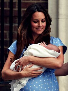 The new prince, George Alexander Louis of Cambridge.