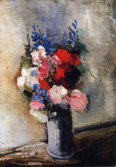 Bouquet of Flowers in a Vase, Maurice de Vlaminck