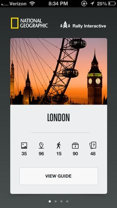 City Guides by National Geographic, by Rally Interactive