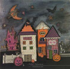 Halloween Mixed Media Decor Item