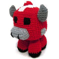Ravelry: Minecraft: Mooshroom pattern by i crochet things