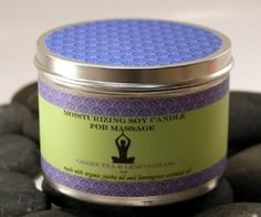 """8 oz Zen Inspirations Moisturizing Candle for Massage Tranquility by Natural Selection Bath and Body. $16.99. includes quote printed on side of label by the Dalai Lama """"We can never obtain peace in the outer world until we make peace with ourselves."""". this multipurpose, natural candle will fill the room with scent, moisturize your skin and work as a massage oil. green tea and lemongrass essential oil blend. pour directly onto skin and use as an incredible warm massage oi..."""