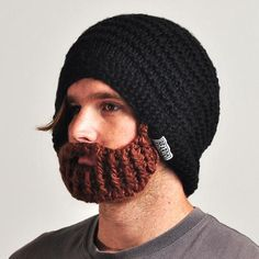 The world's only beanie with a foldaway, detachable and adjustable beard! The Beardo beard hat is ideal for snowboarding, skiing, hiking and general adventuring. The Original Beardo beard hats are: Tag Design, Beard Beanie, Brown Beard, Cadeau Couple, Comme Des Garcons, Teen Boys, Just For Fun, Facial Hair, Make Me Smile