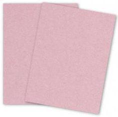 Stardream Metallic - 8.5 x 11 - Text Weight Paper - ROSE QUARTZ - 25 PK - PAPER-PAPERS.COM
