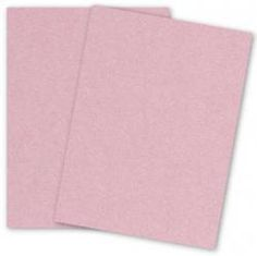 Stardream Metallic - 8.5 x 11 - Text Weight Paper - ROSE QUARTZ - 25 PK - PAPER-PAPERS.COM
