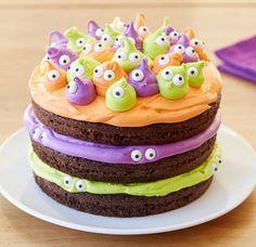 BELLES IMAGES - gâteau Halloween