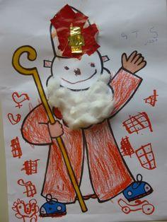 Sinterklaas (groep 1).