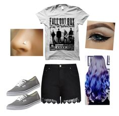 """""""Untitled #16"""" by lenalambert-1 on Polyvore featuring City Chic, Vans, women's clothing, women, female, woman, misses and juniors"""