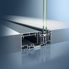 fast rahmenloses aluminium schiebet rsystem sch co ass 77. Black Bedroom Furniture Sets. Home Design Ideas