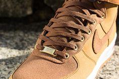 hot sale online f66b9 0bae6 Nike Air Force 1 High - Light British Tan