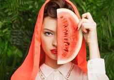 DIY Watermelon Facial Mask Recipes  #beauty