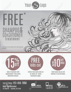 hair salon advertising flyers - Google Search