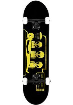 Alien-Workshop Abduction - titus-shop.com  #SkateboardComplete #Skateboard #titus #titusskateshop