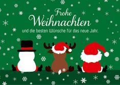 Die besten Wünsche für das neue Jahr | Frohe Weihnachten | Echte Postkarten…