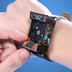 LIMITED EDITION - Classic Arcade Wristwatch  http://sogadget.com/limited-edition-classic-arcade-wristwatch/