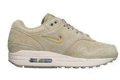 buy online e2bfc 7a5ea Nike Air Max 1 Premium SC Neutral Olive Metallic Gold  80 Shipped on eBay (