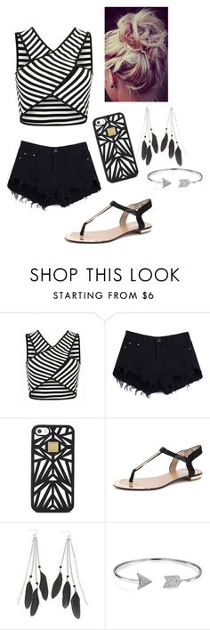 """Untitled #10"" by breanna113 ❤ liked on Polyvore featuring Hervé Léger, Charlotte Russe and Bling Jewelry"