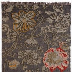 Hand-Woven Wool Kilim Rug                                                Robert Redford's Sundance Catalog