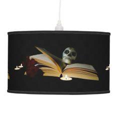 Reading Skull Lamp