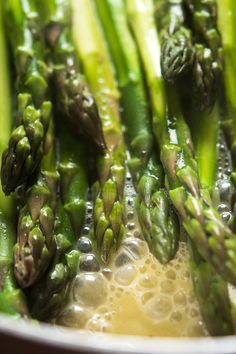 If you believe, as many do, that asparagus should be celebrated as a sure sign of spring and is best eaten only during its relatively short season, you know something about the joy of anticipation. (Photo: Evan Sung for The New York Times)