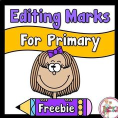This FREE Editing Marks can be used the next time you want students to edit their own writing.