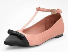 Tory Burch Leoni T strap Ballet Flat  Ballet Inspired Fashion  #capeziostudio2street