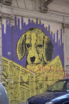 Street art, Buenos Aires, Argentina  # http://MisteriosaBsAs.blogspot.com