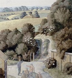 Simon Palmer, Conflicting Suggestions. Watercolour. |T