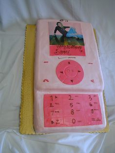 Cell Phone Cake