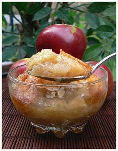 Le palais gourmand: Pouding chômeur aux pommes et à l'érable