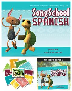 Curriculum Review: Song School Spanish by Classical Academic Press Homeschool Encouragement