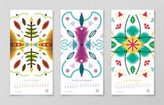 beautiful 2012 calendars / Jasho Salazar for Mouscacho