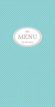 Menu de mariage (wedding menu) : Motif chic - by Tomoë pour http://www.rosemood.fr #mariage #wedding #menu
