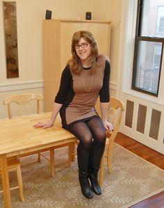 I'm loving this pretty sweater dress!  141231 51 (Erica Foley) Tags: