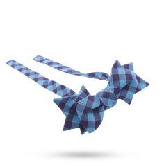 Ivy Leaf Bow tie  shop.maisonf.com