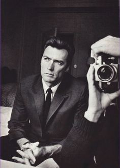Clint Eastwood and Duane Michals