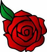 Red Rose Vector Art - Free Clip