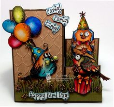 Bird Crazy Birthday!!! by *1 wacky woman* - Cards and Paper Crafts at Splitcoaststampers