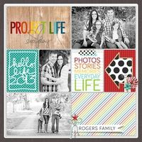 A Project by Kim_R from our Scrapbooking Project Life Galleries originally submitted 01/09/14 at 11:35 AM