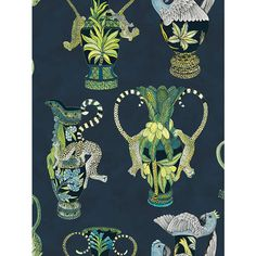 BuyCole & Son Khulu Vases Wallpaper, 109/12058 Online at johnlewis.com