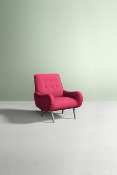 Slide View: 1: Losange Chair, Peformance Wool