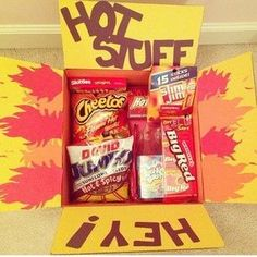Many have LOVED this idea for a fun care package. Repinning it to bring back up to the top of this board. : ) - Fun care package idea!