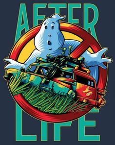 Original Ghostbusters, The Real Ghostbusters, Ghostbusters Logo, 80s Movie Posters, Movie Poster Art, Die Geisterjäger, Most Popular Cartoons, Ghost Busters, After Life